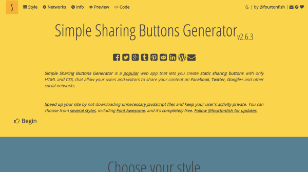 simple-sharing-buttons-generator