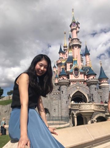 Disney land parisでの写真