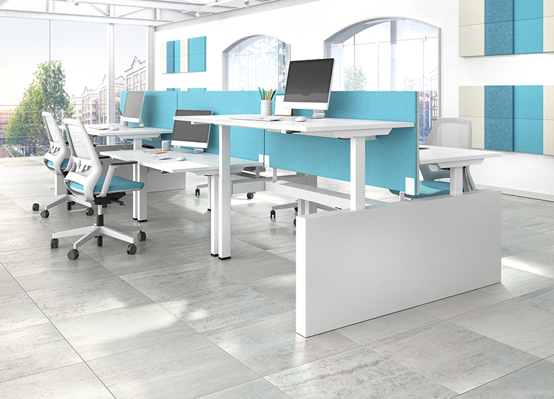 Motion Sit Stand Desk Office Desks Office And Home Solutions