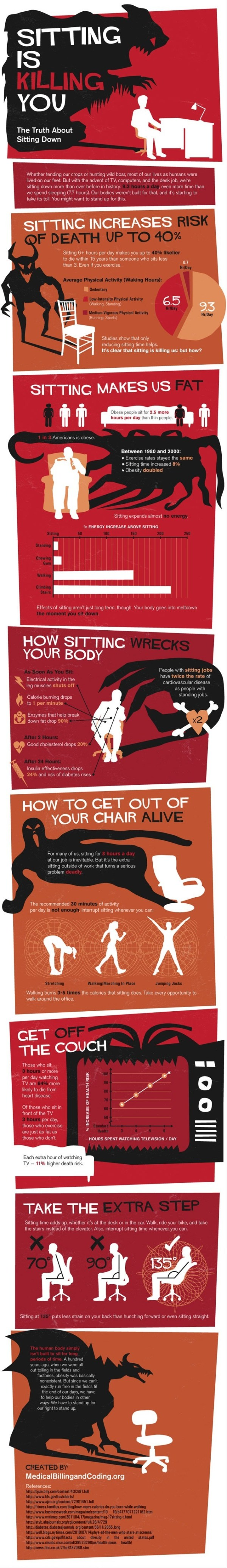 Health Risks of Sitting Too Much
