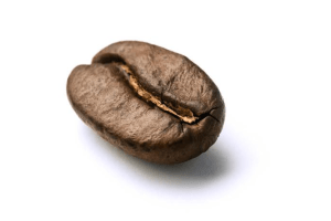 Who doesn't recognize that familiar shape of the Coffee Bean. Here is a picture of it for those that don't know what it looks like.