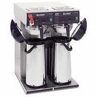 Bunn Dual Pot Coffee Makers used by our Classic Coffee Service Tampa Customers.