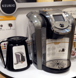 Keurig has really stepped up their game offering flexibility and a variety of options.