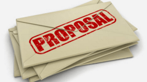 We will draw up your proposal for your coffee and refreshments services.