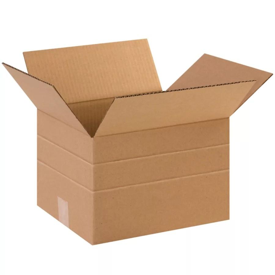 Office Depot Brand Heavy Duty Multi Depth Corrugated Cartons 8 X 12 X 10 Kraft Pack Of 25