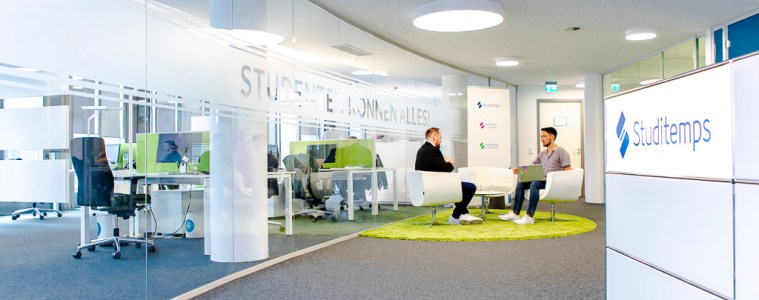 Studitemps, Office, Büro, Köln