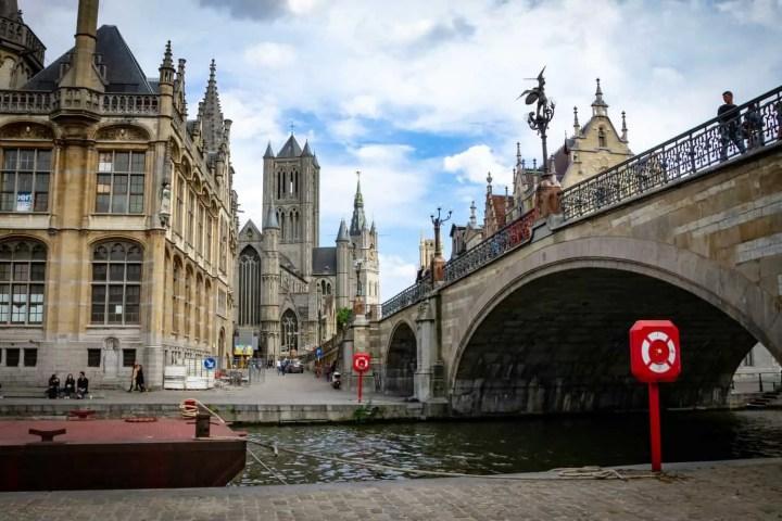 St. Michael's Bridge Ghent