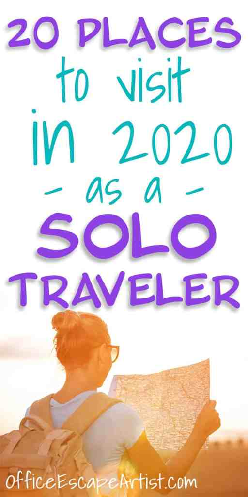20 Places to Visit in 2020 As a Solo Traveler | Want to take a solo trip but have no idea where to go? The experts have spoken - here are the 20 places you need to visit in 2020 as a solo traveler! | Solo Travel | Solo Female Travel | Solo Male Travel | Europe Travel | Adventure Travel | Solo Travel Destinations | Solo Travel Quotes | Solo Travel Tips
