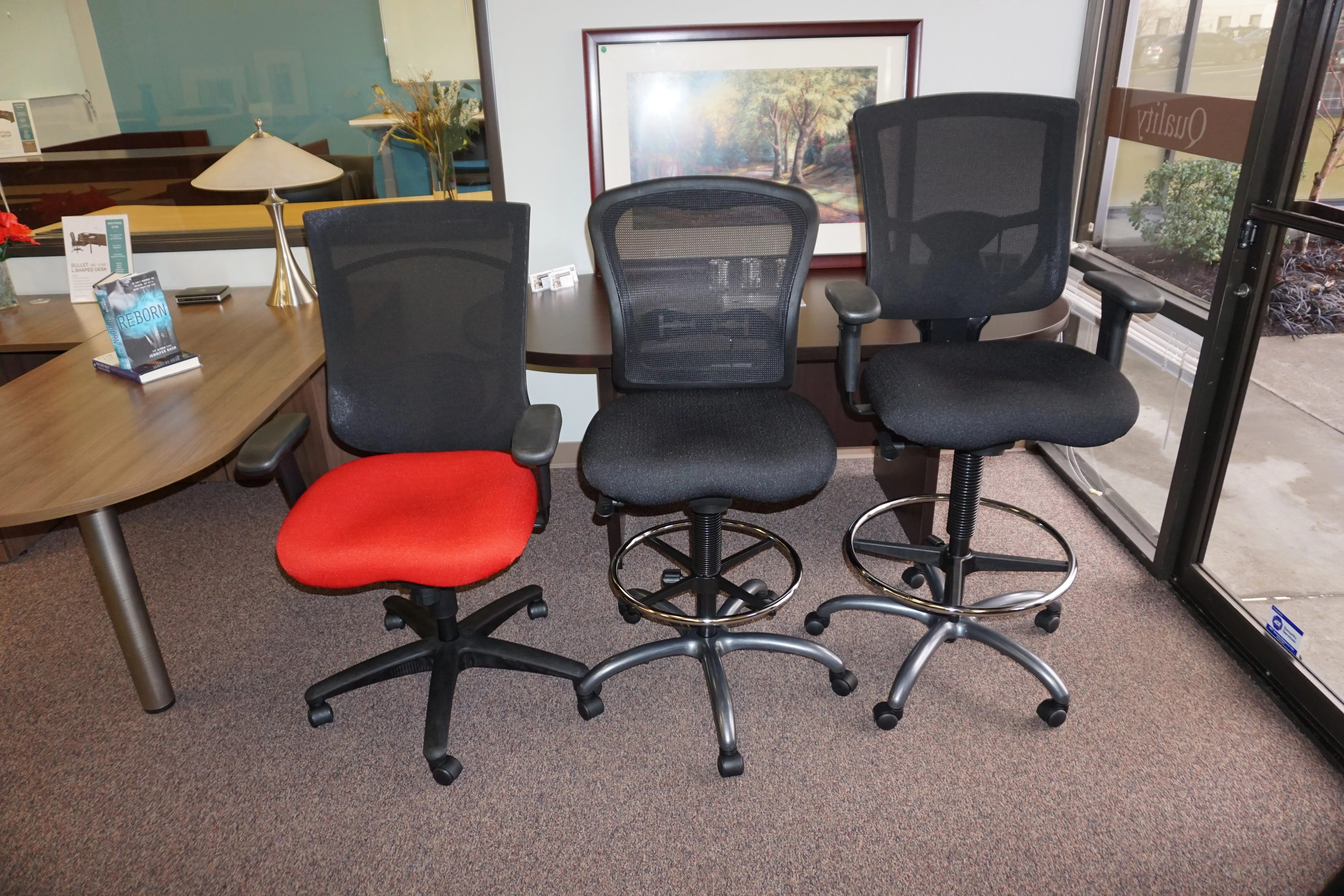 7 – Brand New Chairs Chair Office Furniture Desks Desk Table ...