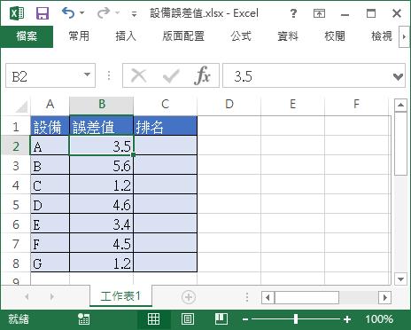 Excel 自動計算排名 RANK 函數教學與範例 - Office 指南
