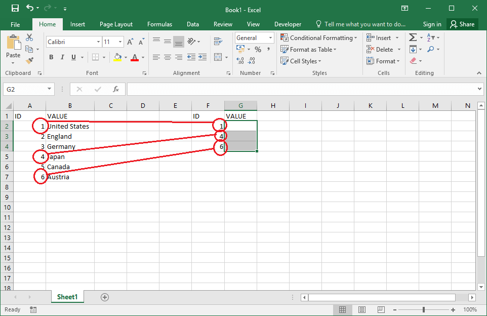 How to use VLookUp function in VBA Excel - OfficeInside.Org