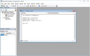Excel VBA functions - Abs VBA function
