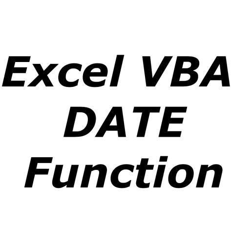 Excel VBA DATE function