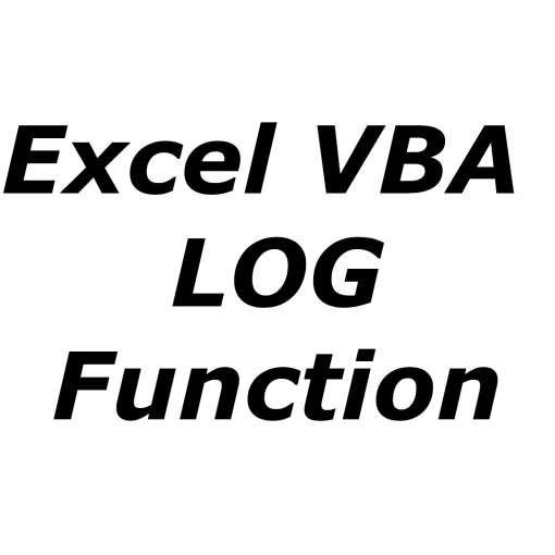 Excel VBA LOG function