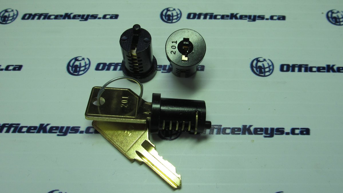 Wesko Standard Number Series Lock Core Black Officekeys Ca
