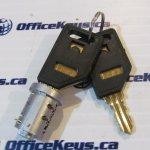 Wesko Double Sided Regular Number Series Lock core