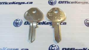 Ilco Key Blank 1092DS