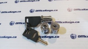 Wesko ILCO Number Series (501-700) Lock Core - Nickel