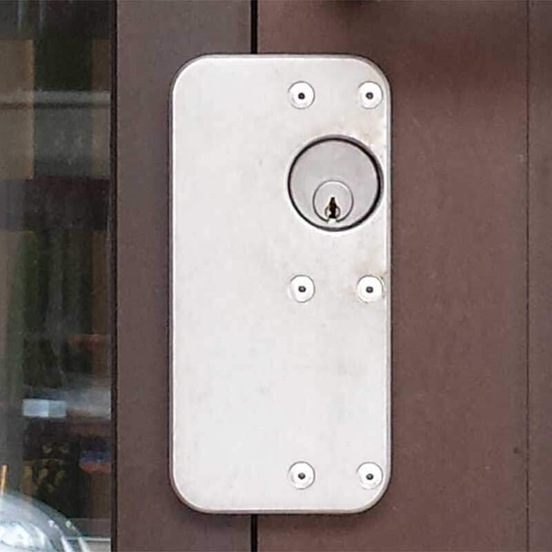 Capitol Industries CI Series Cylinder Lock Plate