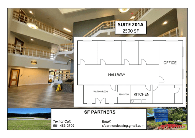 2500 SF Suite 201A Professional Office Space Available in Louisville, KY
