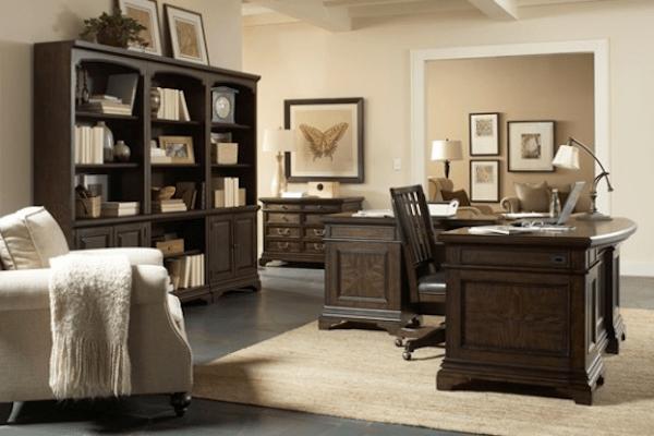 aspen home essex l shape desk