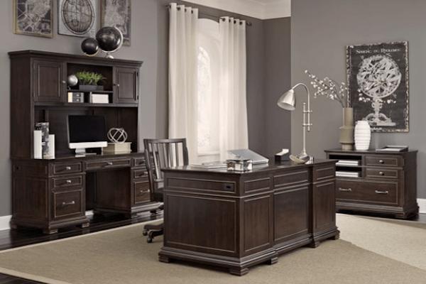 aspen home weston executive desk