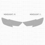 アウディ A3セダン 【8VCXS】 (2017(H29),1~) 2nd ヘッドライト PPF
