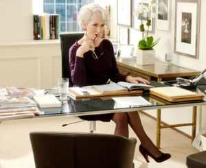 Office Mum post: photo from The Devil Wears Prada