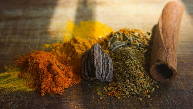 Office Mum post: photo of spices