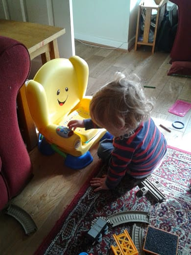 Office Mum: Fisher Price Smart Stages Chair