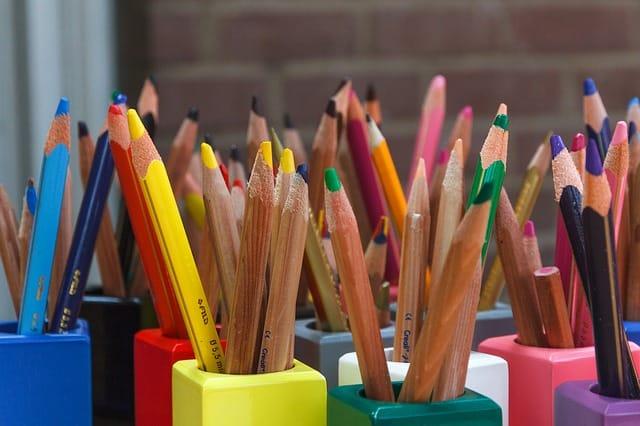 office mum - pencils