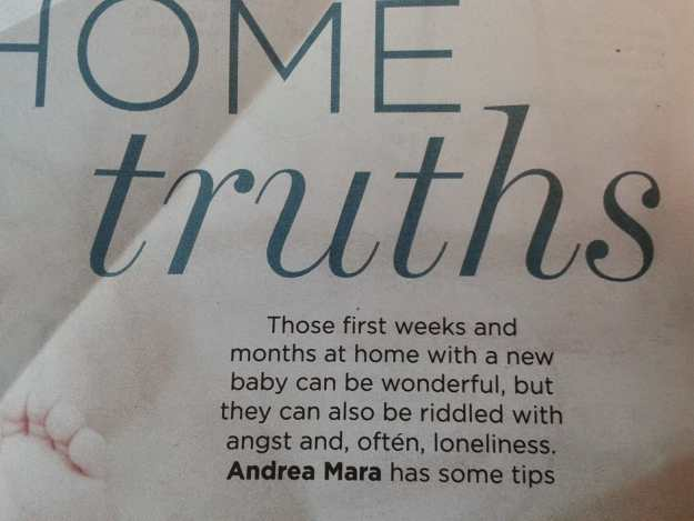 Home Truths Mothers and Babies Andrea mara