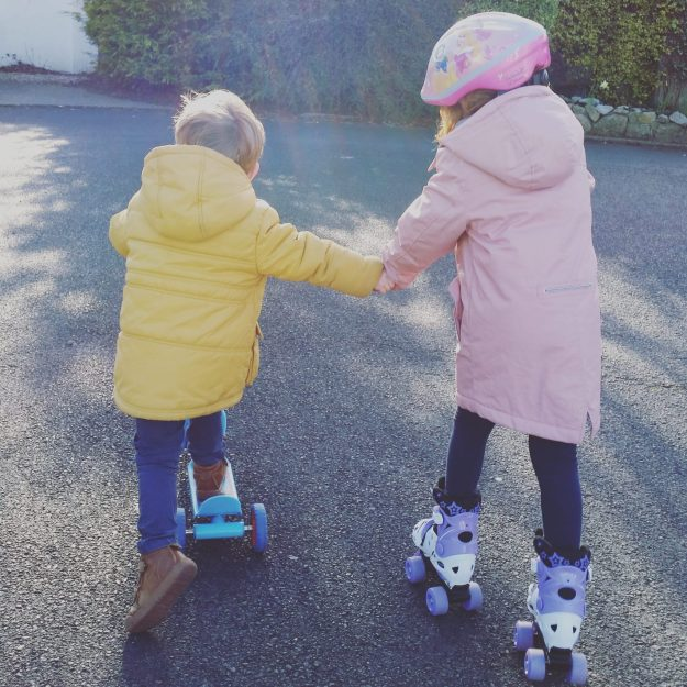 Roller skating - Office Mum