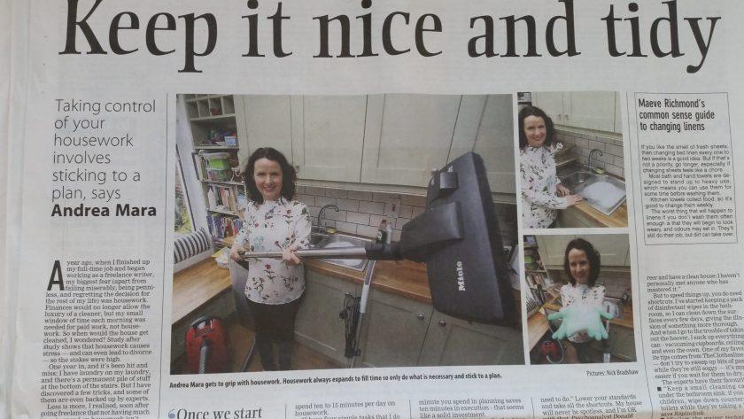Andrea Mara housework - Office Mum