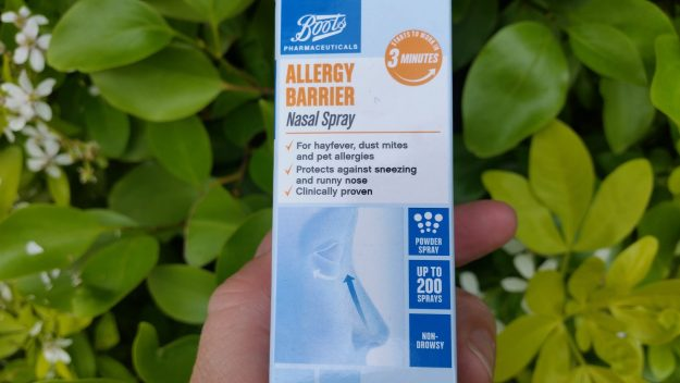 Boots Allergy Barrier Nasal Spray - hay fever - Office Mum
