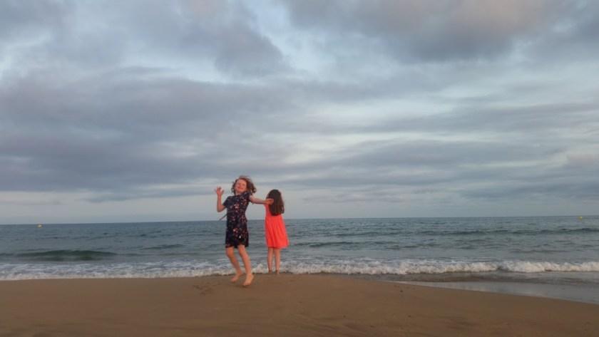 beach Cambrils - office mum