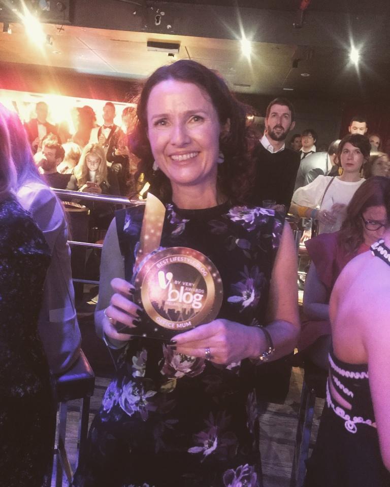Blog Awards - Office Mum, Andrea Mara