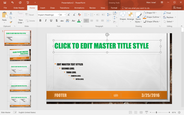 How To Create A Reusable Template With Powerpoint Work Less Live More