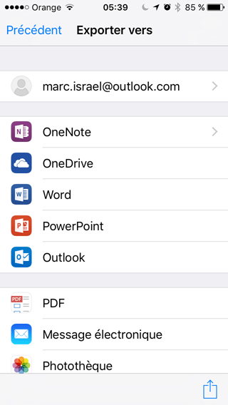 insert pdf powerpoint into onenote