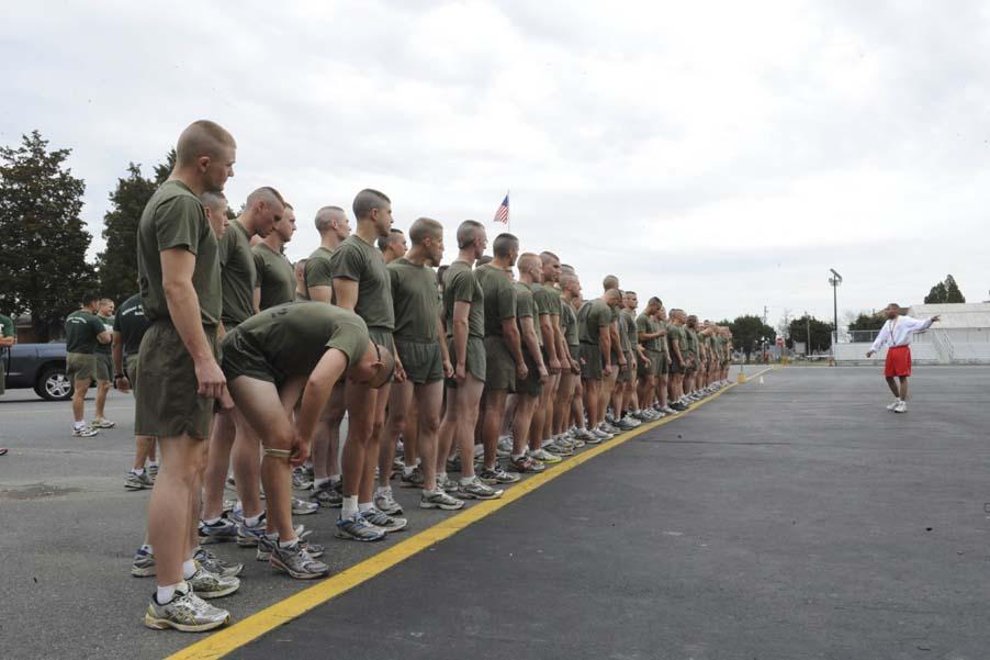 Physical fitness ocs blog - Ocs officer candidate school ...