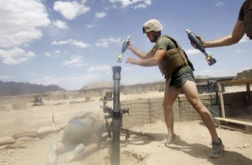 Marine Corps Silkies in battle