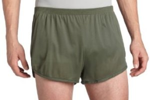 USMC PT shorts Silkies