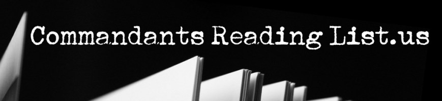 Commandants Reading List