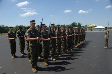 marine corps drill quantico