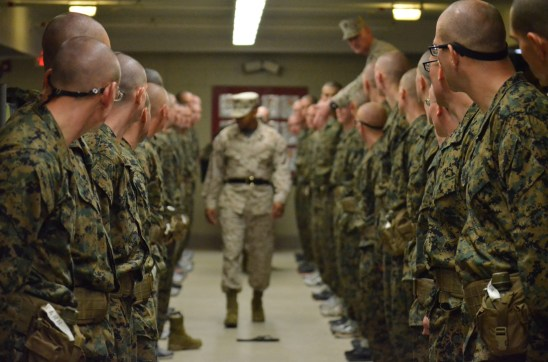 sergeant instructors pickup ocs quantico