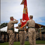 A Change of Command Ceremony. These men are about 25 years removed from being candidates.