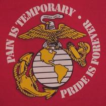 usmc pain temporary