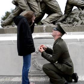 Proposing at Boot Camp/OCS Graduation: Mistake or Perfect Timing?