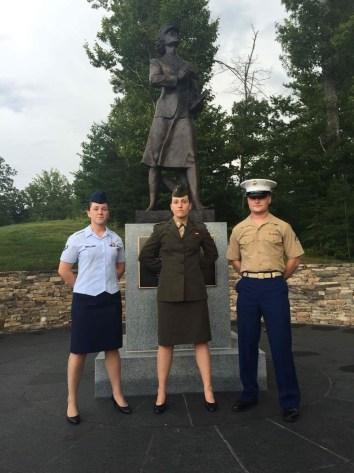 Female Marine Candidates