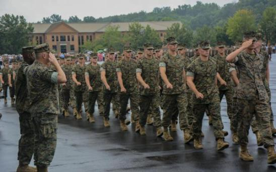 Marine Officer Candidate School Graduation